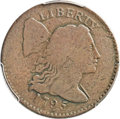 Large Cents, 1795 1C Reeded Edge VG10 PCGS. S-79, B-9, Low R.7. Also Judd-20,Pollock-29. Our EAC Grade VG8. ...