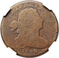 Large Cents, 1799/8 1C AG3 NGC. NC-1, B-1, R.7. Our EAC Grade AG3....