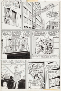 Curt Swan and Frank Chiaramonte Action Comics #492 Page 4 Original Art (DC, 1979)