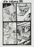 Original Comic Art:Miscellaneous, Simon Bisley Tower Chronicles #3 Page 50 Original Art(Legendary, 2012)....
