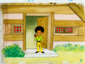 Animation Art:Production Cel, Jackson 5ive Michael Jackson Production Cel Animation Art(Rankin-Bass, 1972)....