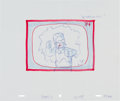 Animation Art:Production Drawing, The Simpsons Ned Flanders Storyboard/Concept DrawingAnimation Art (Fox, c. 1990s)....