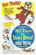 Memorabilia:Poster, Hey There It's Yogi Bear Theatrical Poster (Hanna-Barbera,1964)....
