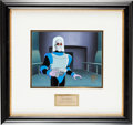 """Animation Art:Production Cel, The Adventures of Batman and Robin """"Deep-Freeze"""" ProductionCel and Background Animation Art (Warner Brothers, 1994)...."""
