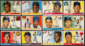 Baseball Cards:Sets, 1955 Topps Baseball Near Set (199/206) With Clemente Rookie. ...