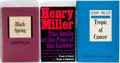 Books:Fiction, Henry Miller. SIGNED/INSCRIBED. Three Titles, including: Tropicof Cancer, The Smile at the Foot of the Ladder [and:] ...(Total: 3 Items)