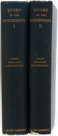 Books:Biography & Memoir, [Anti-Slavery Singers]. John Wallace Hutchinson. Story of the Hutchinsons. Boston: Lee and Shepard, 1896. Introducti... (Total: 2 Items)