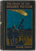 Books:Science Fiction & Fantasy, Jules Verne. The Chase of the Golden Meteor. Grant Richards, 1909. First English edition. Illustrated. Publisher...