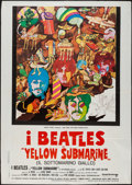 "Movie Posters:Animation, Yellow Submarine (United Artists, R-1970s). Italian 2 - Foglio (39.5"" X 55""). Animation.. ..."