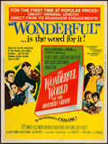 """Movie Posters:Fantasy, The Wonderful World of the Brothers Grimm (MGM, 1963). Poster (30"""" X 40""""). Fantasy.. ..."""