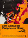 "Movie Posters:Crime, Dirty Harry (Warner Brothers, 1971). French Grande (46"" X 61"").Crime.. ..."