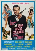 "Movie Posters:James Bond, From Russia with Love (United Artists, R-1970s). Italian 2 - Foglio(39"" X 55""). James Bond.. ..."