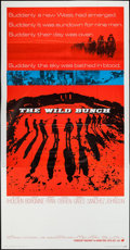 "Movie Posters:Western, The Wild Bunch (Warner Brothers, 1969). Three Sheet (41"" X 78"").Western.. ..."