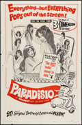 "Movie Posters:Sexploitation, Paradisio (Fanfare, 1961). One Sheet (27"" X 41"") 3-D Style.Sexploitation.. ..."