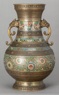 Decorative Arts, Continental:Other , A CLOISONNÉ VASE . Maker unknown, 20th century. 24 x 13 inches wide(61.0 x 33.0 cm). Estate of Gerry Lane, Baton Rouge, L...