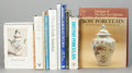 Miscellaneous, A COLLECTION OF TWELVE POTTERY AND PORCELAIN REFERENCE BOOKS. 20thcentury. ... (Total: 15 Items)