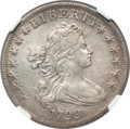 Early Dollars, 1799 $1 7x6 Stars -- Improperly Cleaned -- NGC Details. AU. B-10,BB-163, R.2....