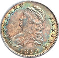 Bust Half Dollars, 1820/19 50C Square Base 2 MS63 PCGS. O-101, R.2....