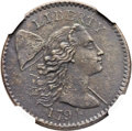 1794 1C Starred Reverse -- Corrosion -- NGC Details. AU. S-48, B-38, Low R.5. Our EAC Grade Fine 12. ...(PCGS# 35704)
