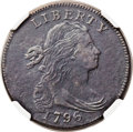Large Cents, 1796 1C Draped Bust, Reverse of 1797 -- Tooled -- NGC Details. VF.S-115, B-43, R.3. Our EAC Grade VG10. ...
