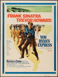 "Movie Posters:War, Von Ryan's Express (20th Century Fox, 1965). Poster (30"" X 40""). War.. ..."