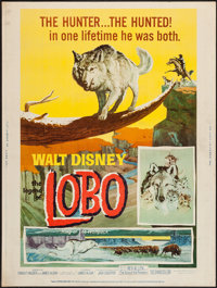 """The Legend of Lobo & Other Lot (Buena Vista, 1962). Posters (2) (30"""" X 40""""). Adventure. ... (Total: 2..."""