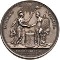 Betts Medals, Betts-603. 1782 Holland Receives Adams. Silver. AU. ...