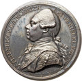 Betts Medals, Betts-551. 1775 Lord North. Silver. AU....
