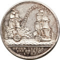 Betts Medals, Betts-588. 1781 Battle of Doggersbank. Silver. AU. ...