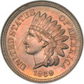 Indian Cents, 1859 1C MS65 NGC....