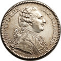 Betts Medals, Betts-Unlisted. 1783 Treaty of Versailles. Silver. XF. ...