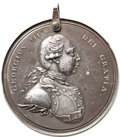 Betts Medals, Betts-438. George III Indian Peace Medal. Medium Size. Silver, withhanger....