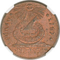Colonials, 1787 1C Fugio Cent, UNITED STATES, Cinquefoils MS64+ Red and Brown NGC. CAC. N. 8-B, W-6740, R.3....