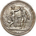 Betts Medals, Obverse and Reverse Trial Strikes for 1781 Victory at CowpensMedal. White Metal. Betts-593, Julian MI-7.... (Total: 2 medals)