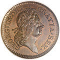 Colonials, 1723 1/2P Hibernia Halfpenny MS66 Brown NGC. M. 4.76-Gd.2, W-13570, R.5....
