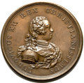 Betts Medals, Betts-168. 1733 French West India Company. Bronze. VF....