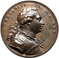Betts Medals, Betts-529. 1773 St. Vincent's Medal. Bronze. XF. ...