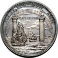 Betts Medals, Betts-158. 1725 Peace of Vienna. Silver. AU....