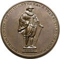 Betts Medals, Betts-533. (1826) Tristram Coffin Medal. Bronze. XF. . ...