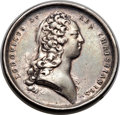 Betts Medals, Betts-125 variant. 1716 Chamber of Justice. Silver. Fine....