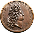 Betts Medals, Betts-125 variant. 1716 Chamber of Justice. Bronze. XF....