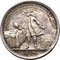 Betts Medals, Betts-128. 1720 John Law. Silver. VF. ...