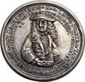 Betts Medals, Betts-124. 1720 John Law. Silver. VF-XF. ...