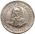 Betts Medals, Betts-117. 1720 John Law. White Metal, cast (lead). VF. . ...