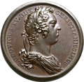 Betts Medals, Betts-147. 1720 Founding of Louisbourg. Bronze. XF. ...
