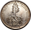 Betts Medals, Betts-103. 1700 American Aloe Plant. Silver. XF. ...