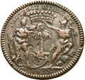 Betts Medals, Betts-384. 1752 Compagine des Indes Occidentales. Bronze. Fine....
