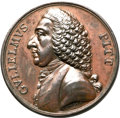 Betts Medals, Betts-516. William Pitt. Bronze. XF. ...