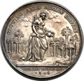 Betts Medals, Betts-169. 1736 Jernegan Cistern. Silver. XF. ...