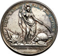 Betts Medals, Betts-169. 1736 Jernegan Cistern. Silver. VF....